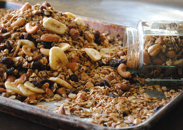 Banana Nut Trail Mix Granola
