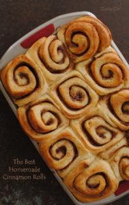 The BEST Cinnamon Buns