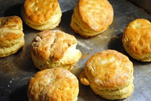 Flaky Spaghetti Squash Biscuits