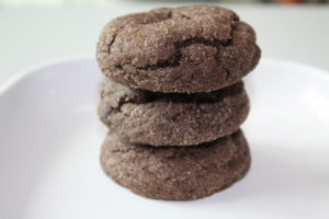 Dark Mexican Chocolate Cookies with a Surprise