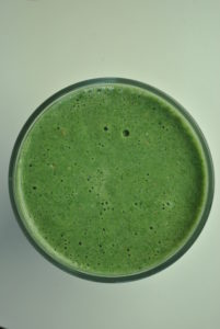 Sweet Banana and Spinach Smoothie
