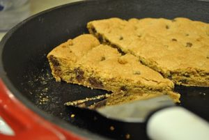 Giant Skillet Whole Wheat Chocolate Chip Cookie