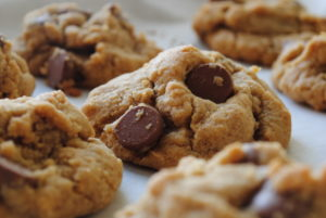 Whole Wheat and Brown Sugar Chocolate Chip Cookies