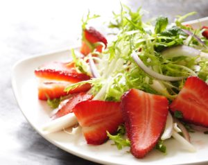 Strawberry and Frisee Salad