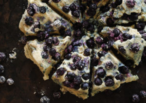 Whole Wheat Blueberry Scones