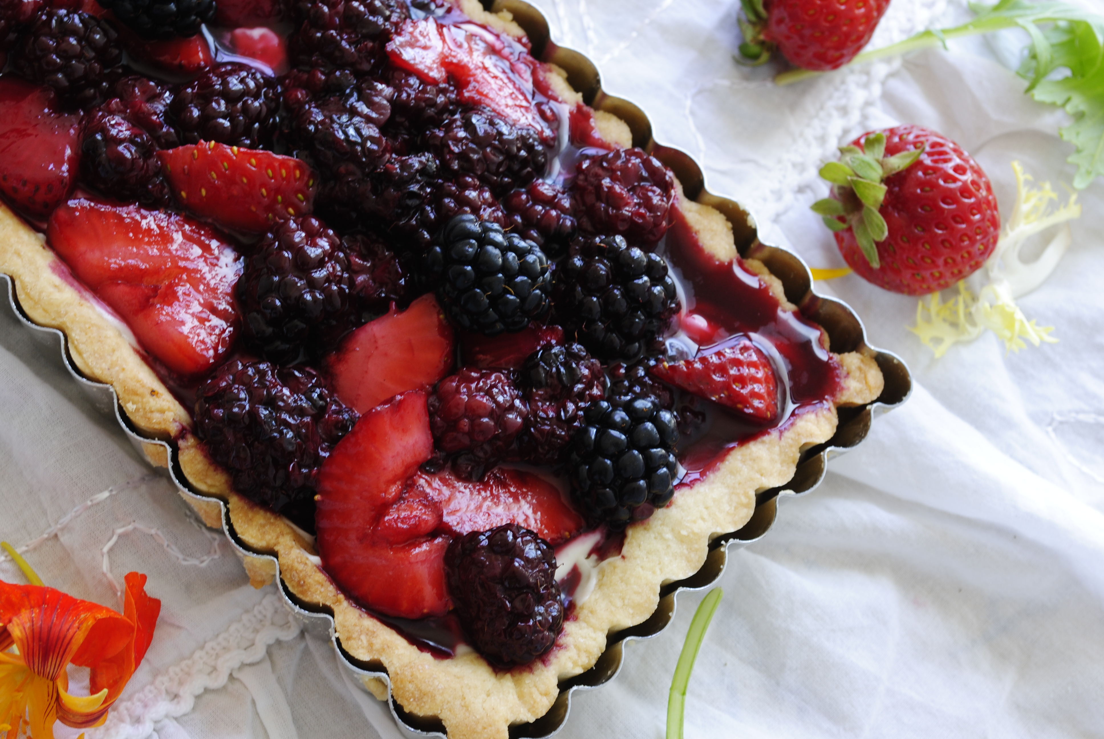 Grayson's Gluten Free Roasted White Chocolate Berry Tart ...