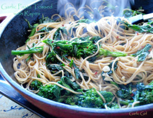 Pasta with Rapini and Garlic