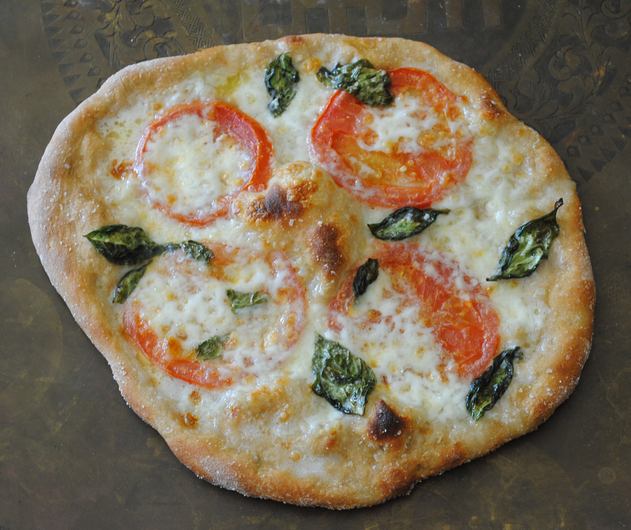 Whole Wheat Pizza Margherita