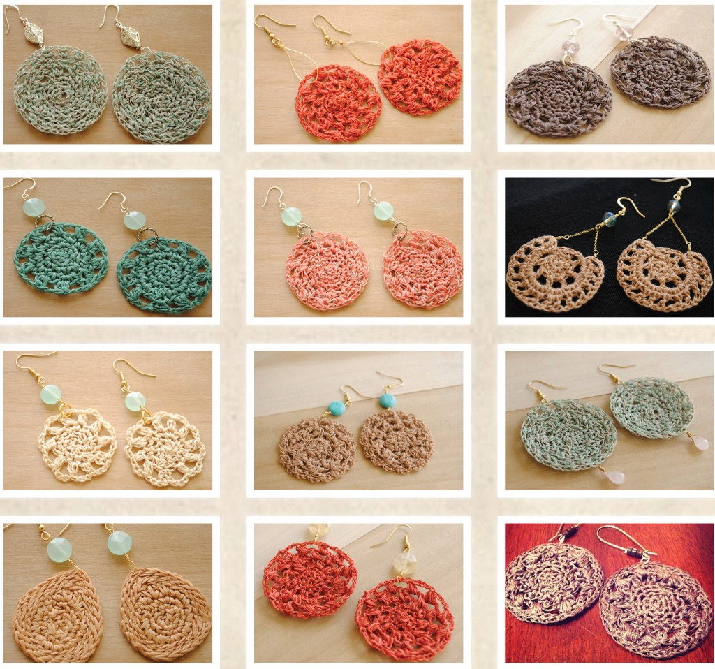 Hand Crocheted Earring Giveaway