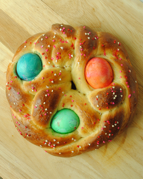 Garlic Girl's Italian Easter Bread