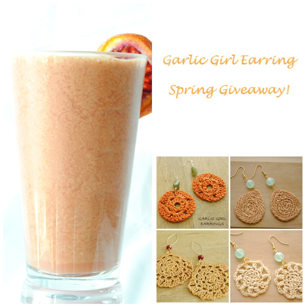 Giveaway} and a Strawberry & Blood Orange Creamsicle Smoothie