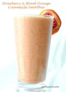 {Giveaway} and a Strawberry & Blood Orange Creamsicle Smoothie