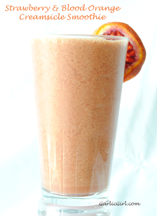 Strawberry & Blood Orange Creamsicle Smoothie