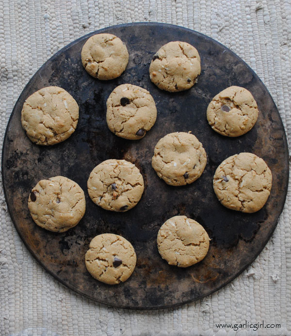 Best Whole Wheat Chocolate Chip and Coconut Cookies
