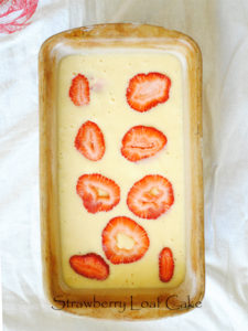 Strawberry Loaf Cake
