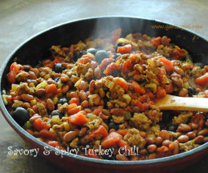 Savory & Spicy Turkey Chili