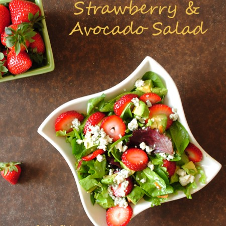 Summer Strawberry & Avocado Salad
