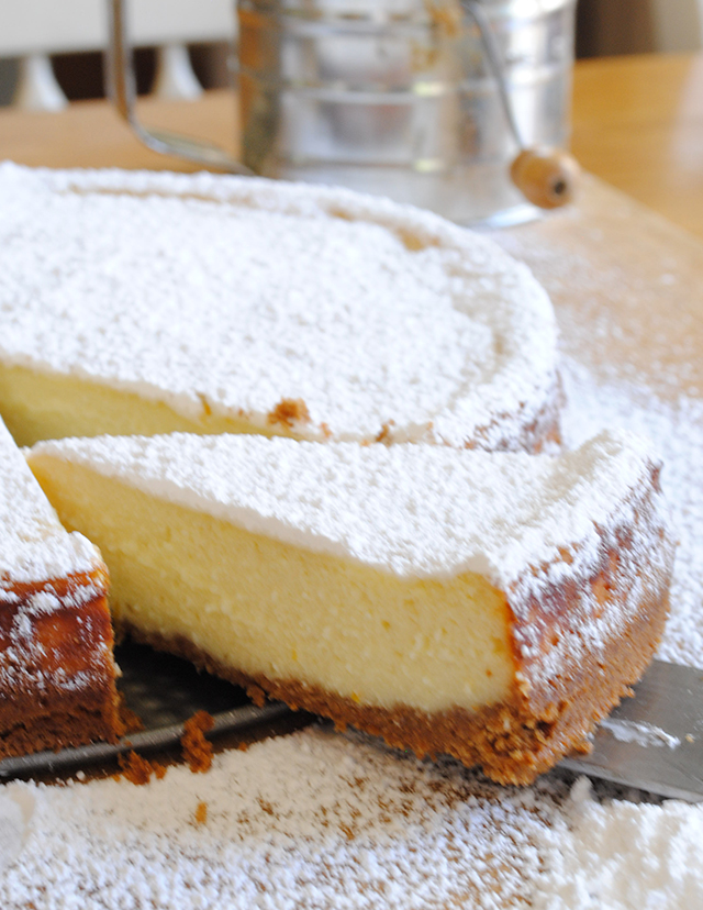 About the Ricotta Cheesecake? It's the easiest cheese cake you'll ...