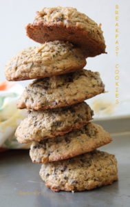 Whole Wheat Breakfast Cookies