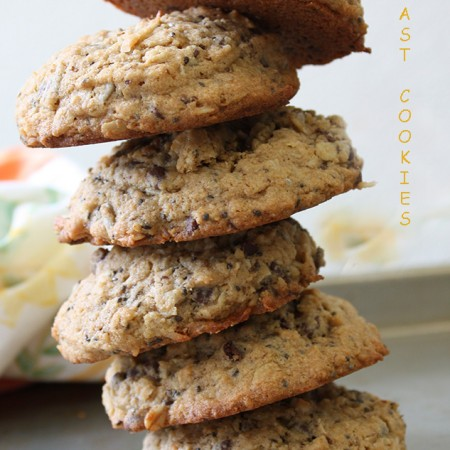 Garlic Girl's Breakfast Cookies