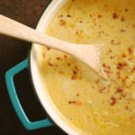 Smoky and Spicy Corn & Potato Chowder