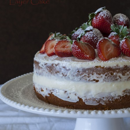 Snowy Strawberry Naked Cake3-680jpg