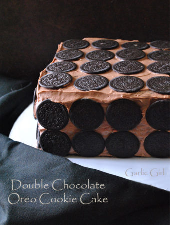 Double Chocolate Oreo Cookie Cake